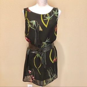 Like New Coldwater Creek Crepe Tunic Fully Lined